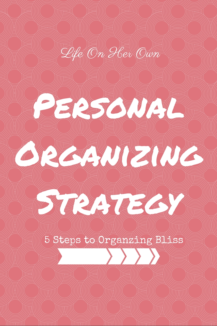 Personal Organizing Strategy LOHO